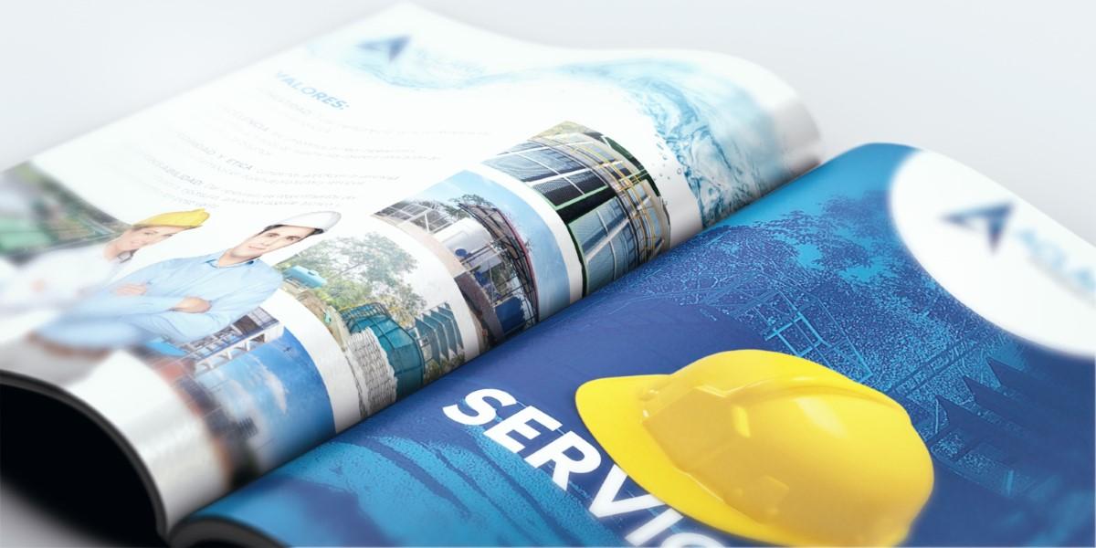 diseño de portafolio empresa de ingenieria Villavicencio