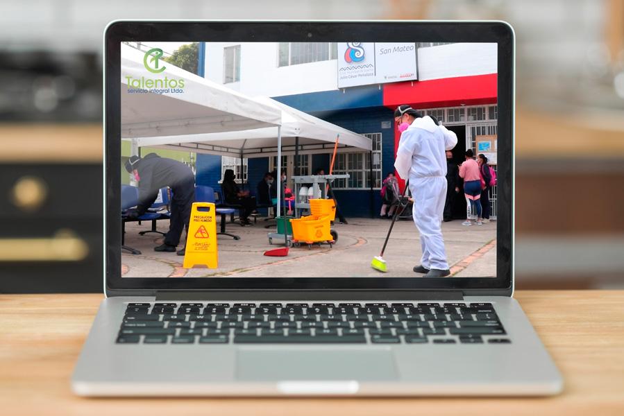 Video comercial para empresa de aseo villavicencio bogota talentos servicios integrales