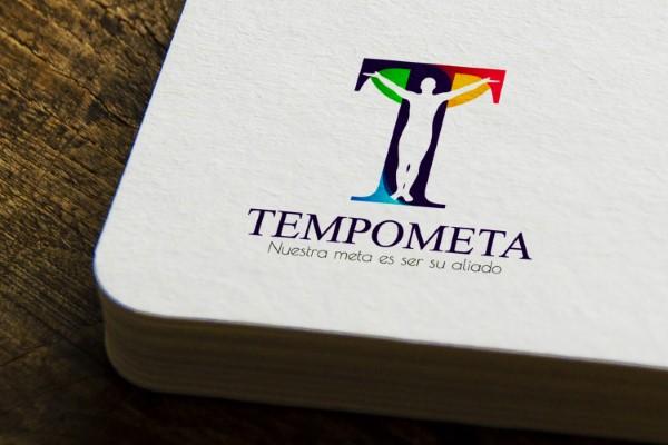 diseño de logo marca tempometa 2020 en Colombia Villavicencio empresa temporal